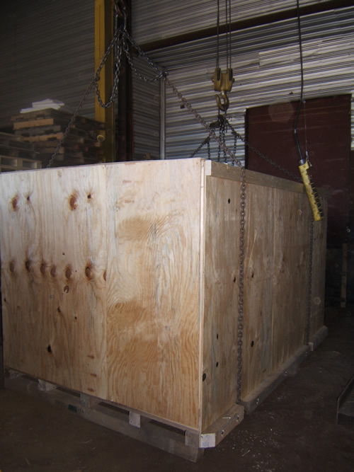 On-Site Crating and Repackaging